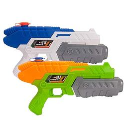 Fstop Labs 2 Pack Water Guns, Super Soaker Gun, Water Blaste