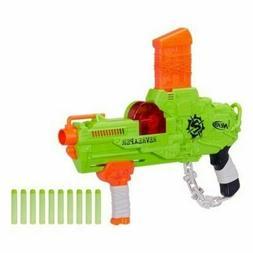 New Year Gift Nerf Zombie Strike RevReaper Blaster Foam Dart