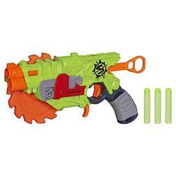 Nerf Zombie Machine Gun Strike Crosscut Blaster Toys 2 in 1