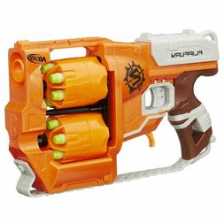 Nerf Zombie Strike Flip Fury Blaster Gun Weapon with 12 Dart