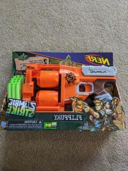 Nerf Zombie Strike Flipfury Blaster BRAND NEW