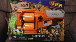 NERF Zombie Strike FlipFury Blaster Dart Gun  Accustrike Fli