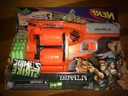 Nerf Zombie Strike FlipFury Blaster Toy Gun Soft Darts Bulle