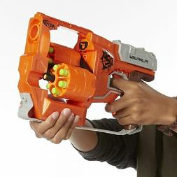 New Nerf Zombie Strike FlipFury Blaster Toy Gun Soft Darts B