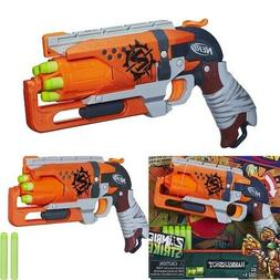 Nerf Zombie Strike Hammershot Blaster Kids Toy Dart Gun Shoo