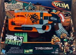NERF ZOMBIE STRIKE HAMMERSHOT. Kids Dart Gun Gift Toy.