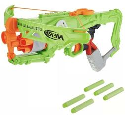 Nerf Zombie Strike Outbreaker Bow Single Action Crossbow Toy