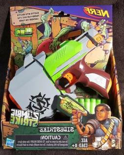 Nerf Zombie Strike Sidestrike Blaster Dart Gun With Holster