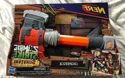 Nerf Zombie Strike Survival System Chopstock Dart Guns New O