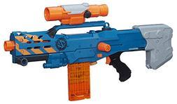 Nerf Zombie Strike ZED Squad Longshot CS-12 Blaster Long Ran